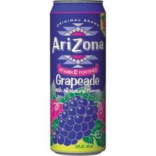 Напиток ARIZONA GRAPEADE 0,680 x 24 ж/б (США)