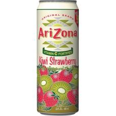 Холодный чай ARIZONA TEA KIWI STRAWBERRY 0,680 x 24 ж/б (США)