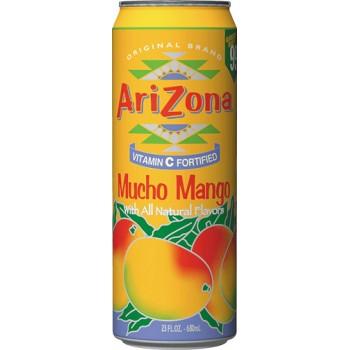 Холодный чай AriZona tea Mucho Mango (Аризона мучо манго) 0.68л ж/б