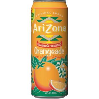 Напиток ARIZONA ORANGEADE 0,680 x 24 ж/б (США)