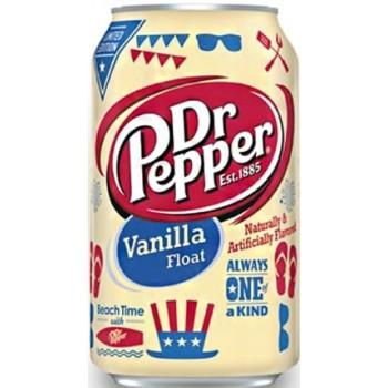 Напиток Dr.Pepper Vanilla Float (Доктор Пеппер Ванилла Флоат) 0,355 л х 12 ж/б