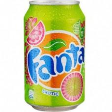 Напиток Fanta Exotic (Фанта Экзотик) 0,33 л х 24 ж/б