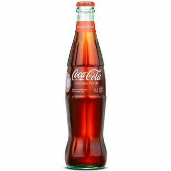 Напиток б/алк Coca Cola Georgia Peach (Персиковая Кола) 0,355 л x 24 ст.бут.