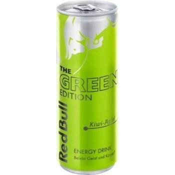 Напиток Red Bull the Green Edition (Ред Булл Киви и Яблоко) 0,25 л  х 24 ж/б