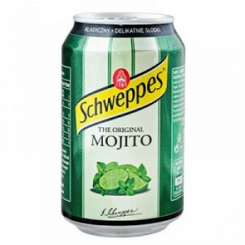 Напиток Schweppes the original Mojito (Швепс Мохито) 0,33 л х 24 ж/б