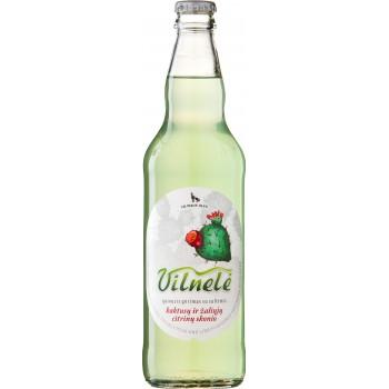 Безалкогольный напиток =Вильнеле Кактус и Лайм= 0,5 x 8 cт. бут /Литва