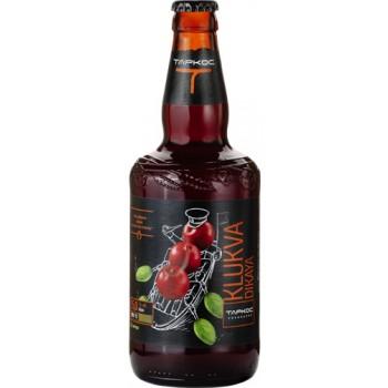Пиво Таркос Klukva Dikaya 0,5 x 12 ст.бут. алк. 5,0%