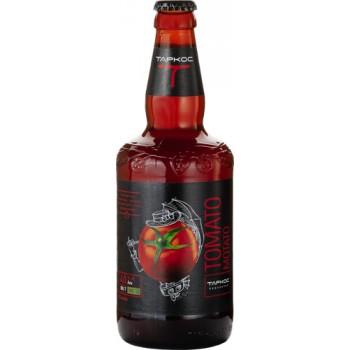 Пиво Таркос ТОМАТО МОТАТО светлый нефильтрованное 0,5 x 12 ст.бут. алк. 4.0 %