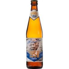 Пиво Таркос Жигулевское 1950 светлое нефильтрованное пастеризованное 0,5 x 20 ст.бут. алк. 3,8%