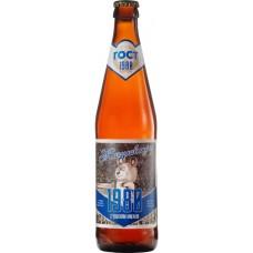 Пиво Таркос Жигулевское 1980 светлое нефильтрованное пастеризованное 0,5 x 20 ст.бут. алк. 4,5%