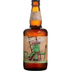 Пиво Таркос Ящерка Билль светлое нефильтрованное 0,5 л. x 12 ст.бут.