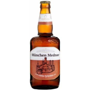 Пиво Таркос Мюнхен Медное светлое нефильтрованное 0,5 л. x 12 ст.бут. алк. 4,8%