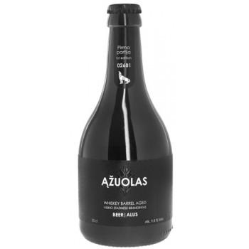 Пиво светлое фильтрованное пастеризованное  Azuolas (Ажуолас)/ алк. 9.8%  0.33 x 8 cт. бут /Литва