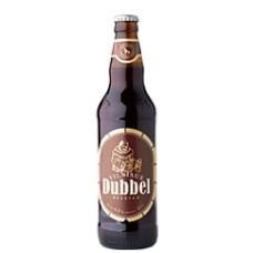 Пиво Vilniaus Dubbel Belgian (Вильнюс Бельгийский Дуббель) темное 0.5л ст.бут. (Литва)
