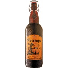 Пиво Vilniaus Kristupo (Вильнюс Криступо) светлое фильтрованное алк. 7,5% 1,0л x 6 cт. бут. /Литва