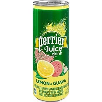 Напиток безалкогольный газированный Перье ЛИМОН-ГУАВА 0,25 л x 24 ж/б(6*4)