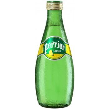 Вода Перье Лимон 0.33х24 ст. бут/Perrier Lemon